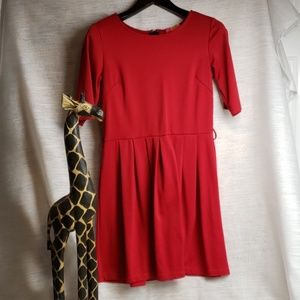 Catch My Red Dress Size Large